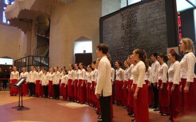 Tournée en Espagne – Concert à la Sagrada Familia