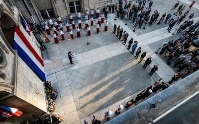 Commémoration Libération Ville de Lyon